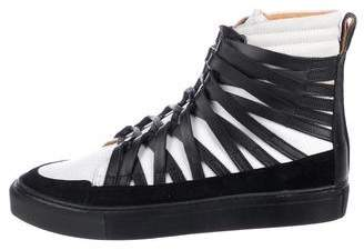 Damir Doma Cage Leather Sneakers w/ Tags