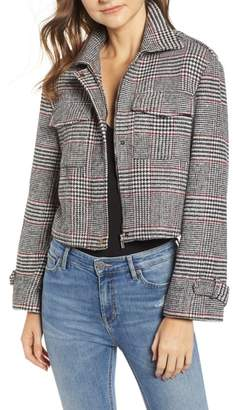 Bishop + Young BISHOP AND YOUNG Houndstooth Plaid Jacket