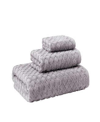 Enchante Home Glossy 3-Pc. Turkish Cotton Towel Set Bedding
