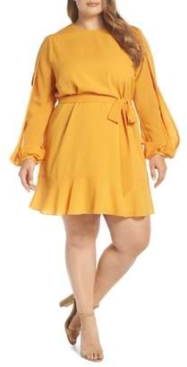 Cooper St Hariette Slit Sleeve Minidress