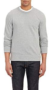 James Perse Men's Raglan Sleeve Long Sleeve Pullover - Light Gray
