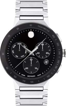 Movado Sapphire Chronograph Bracelet Watch, 43mm
