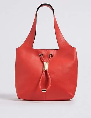 Marks and Spencer Faux Leather Toggle Shoulder Bag