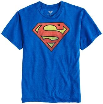 Boys 8-20 Superman Logo Tee