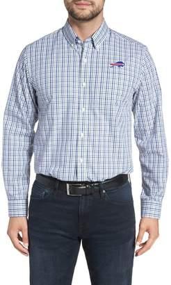 Cutter & Buck Buffalo Bills - Gilman Regular Fit Plaid Sport Shirt