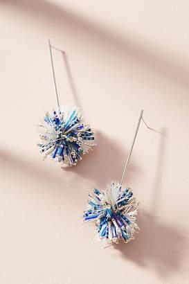 Mishky Beaded Sparkler Drop Earrings