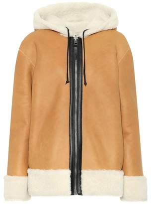 Coach Reversible shearling jacket
