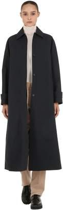 Salvatore Ferragamo Wool Gabardine Coat
