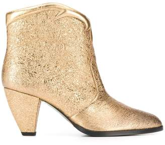 Paola D'Arcano slip-on ankle boots