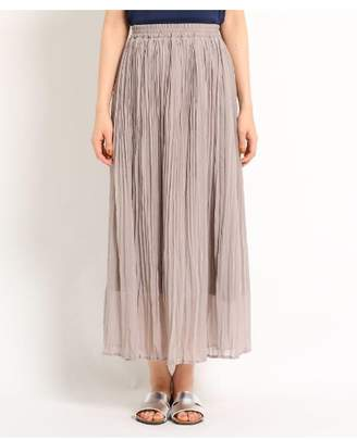 Dessin (デッサン) - Ladies 楊柳シフォンスカート