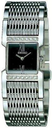 Seiko Women's SUJ271 Stainless Steel Diamond Watch $595 thestylecure.com