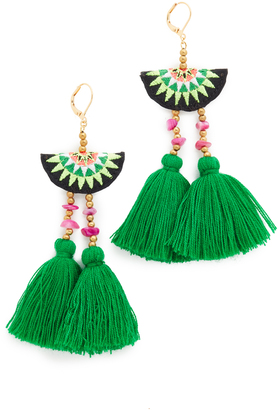 Shashi Camille Earrings $45 thestylecure.com