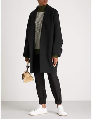 Victoria Beckham Victoria Ruffled wool coat