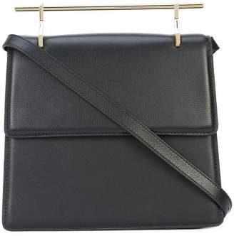 M2Malletier top-bar shoulder bag