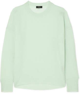 Theory Karenia Cashmere Sweater - Mint