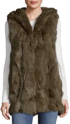 Adrienne Landau Women's Real Fur Vest