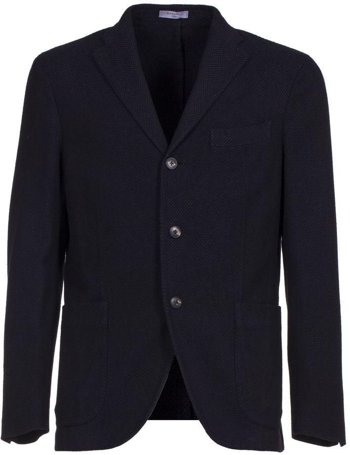 BoglioliBoglioli K-jacket Black And Blue Blazer