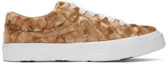 Converse Brown Golf le Fleur* One Star OX Sneakers