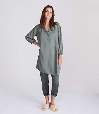 Lou & Grey Henley Shirtdress