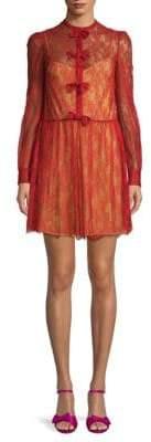 Valentino Abiti Donna Silk Lace Dress