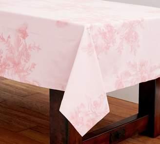 Pottery Barn Monique Lhuillier Rose Bouquet Floral Jacquard Table Cloth