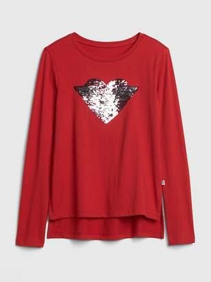 Gap GapKids | DC Wonder Woman Flippy Sequin T-Shirt