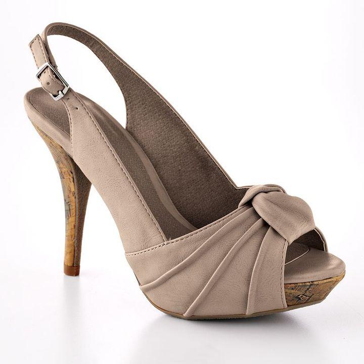 Apt. 9® peep-toe slingback high heels