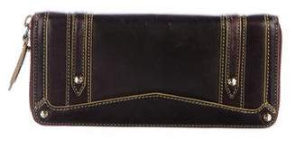 Tod's Smooth Leather Continental Wallet