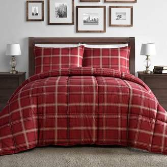 Staniey Collection Plaid Down Alternative Comforter Set