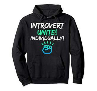 Introverts Unite Individually Hoodie