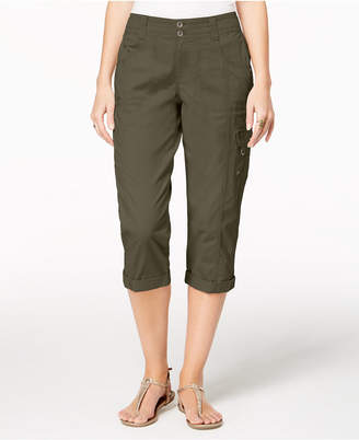 Style&Co. Style & Co Cropped Cargo Pants