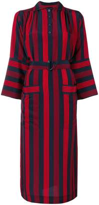 Joseph Chester striped shirt dress
