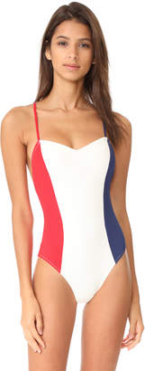 Solid & Striped The Diana One Piece $158 thestylecure.com