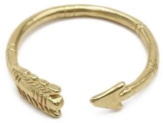 Chibi Jewels Arrow Ring Brass