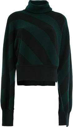 Monse striped turtle neck jumper