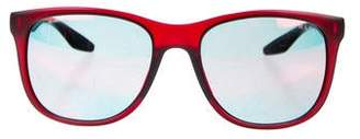 Prada Sport Tinted Wayfarer Sunglasses