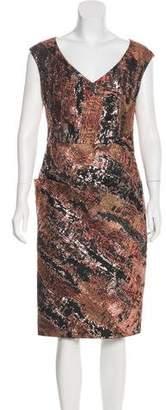 Lela Rose Sleeveless Midi Dress w/ Tags