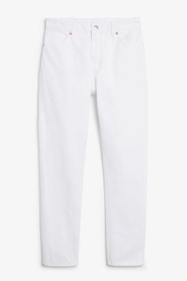 Monki Kimomo white jeans