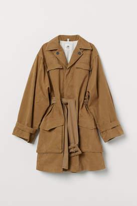 H&M Cotton canvas coat