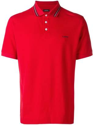 Ermenegildo Zegna piqué polo shirt