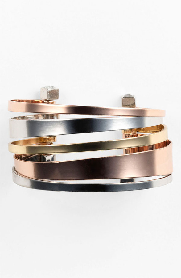 BCBGeneration 'Serra' Multi Cuff Bracelet