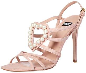 Moschino Women's Heart of Pearls Dress Sandal