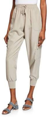 Elie Tahari Zuma Pull-On Cargo Pants