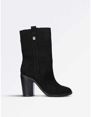 Nine West Ladies Black Timeless Harbourn Boots