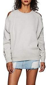 IRO Women's Nakina Lace-Up Cotton Sweatshirt
