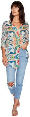 Johnny Was - Teeteem Button Down Women's Clothing $220 thestylecure.com