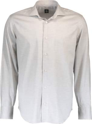 Eleventy Tonal Chevron Shirt