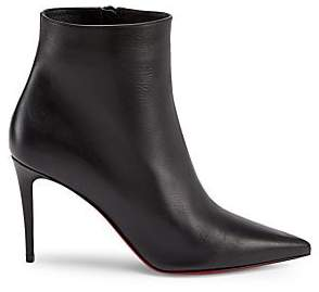 Christian Louboutin Women's So Kate 85 Leather Ankle Boots