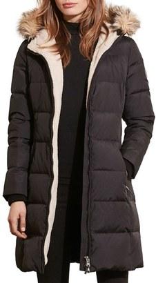 Petite Women's Lauren Ralph Lauren Quilted Parka $320 thestylecure.com