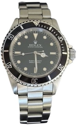 Rolex Submariner 14060 Stainless Steel Oyster Band With Black Dial 40mm Mens Watch $7,500 thestylecure.com